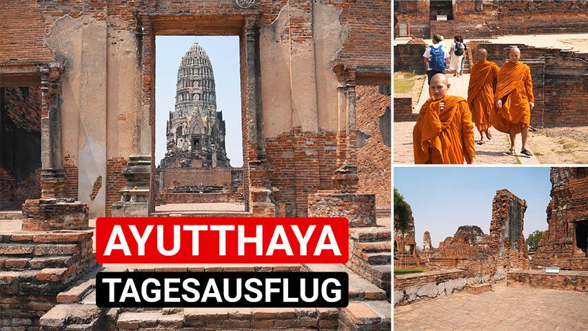 Ayutthaya Tagesausflug