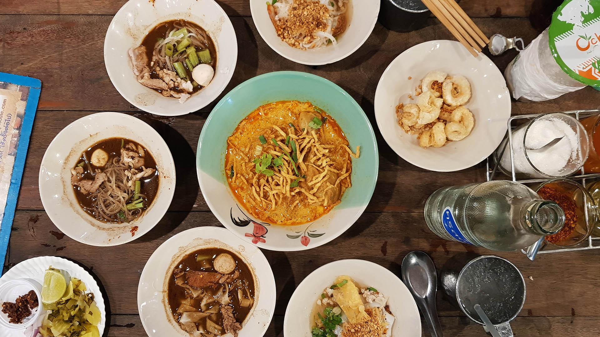 Boat Noodles in Bangkok