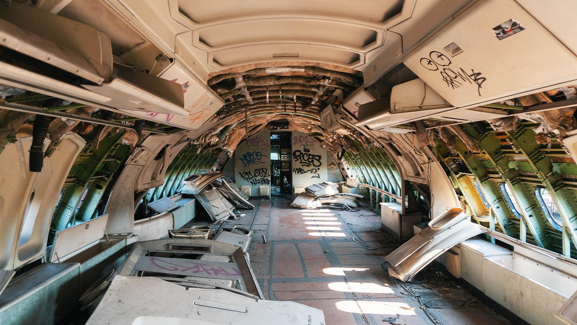 Business Class der Boeing 747
