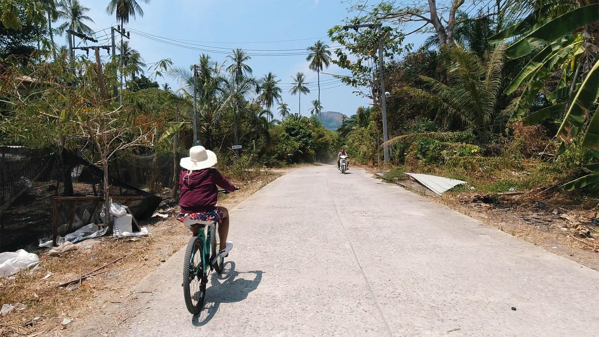 Fahrradtour Coconut Island