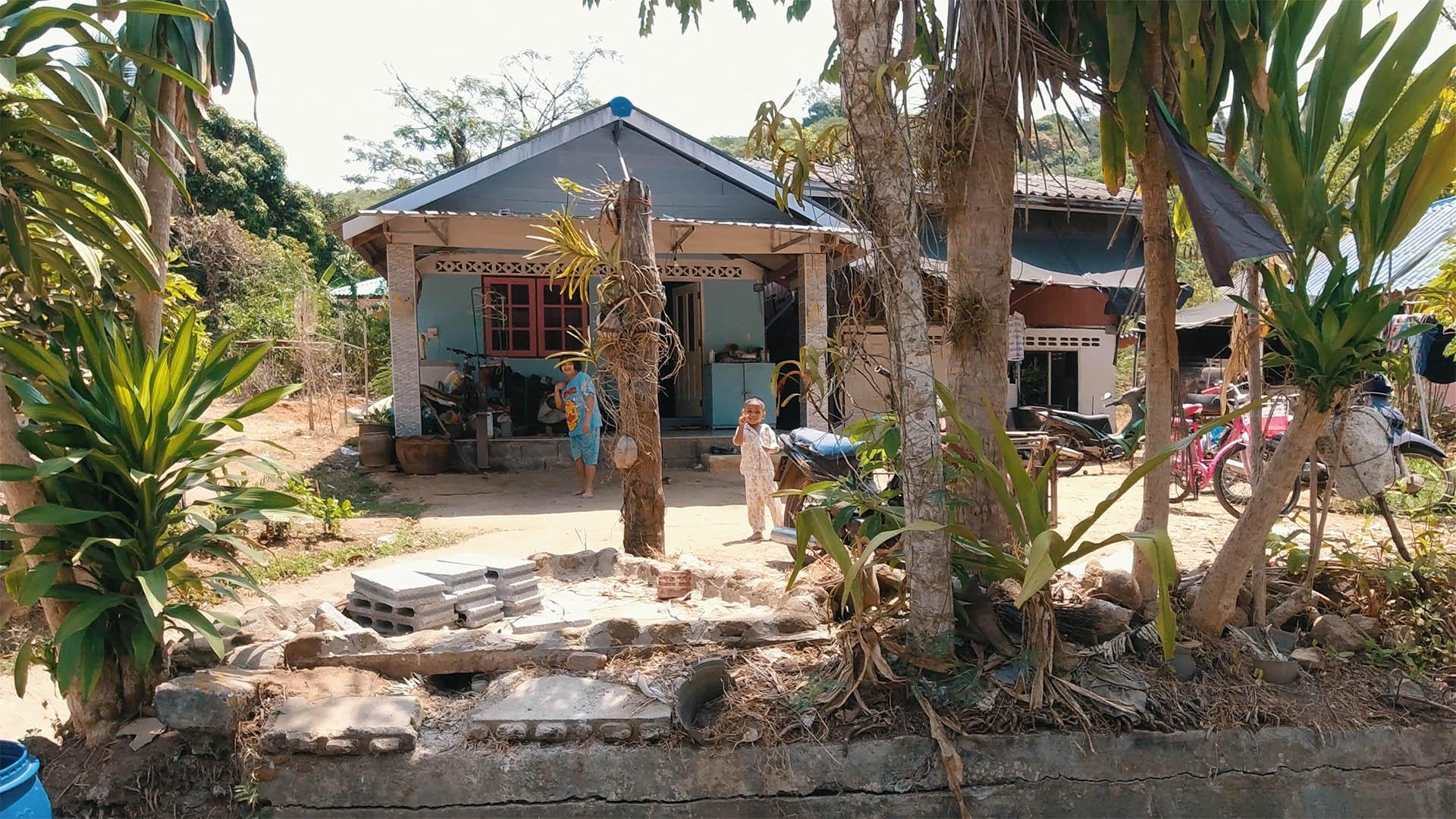 Fischerdorf auf Coconut Island