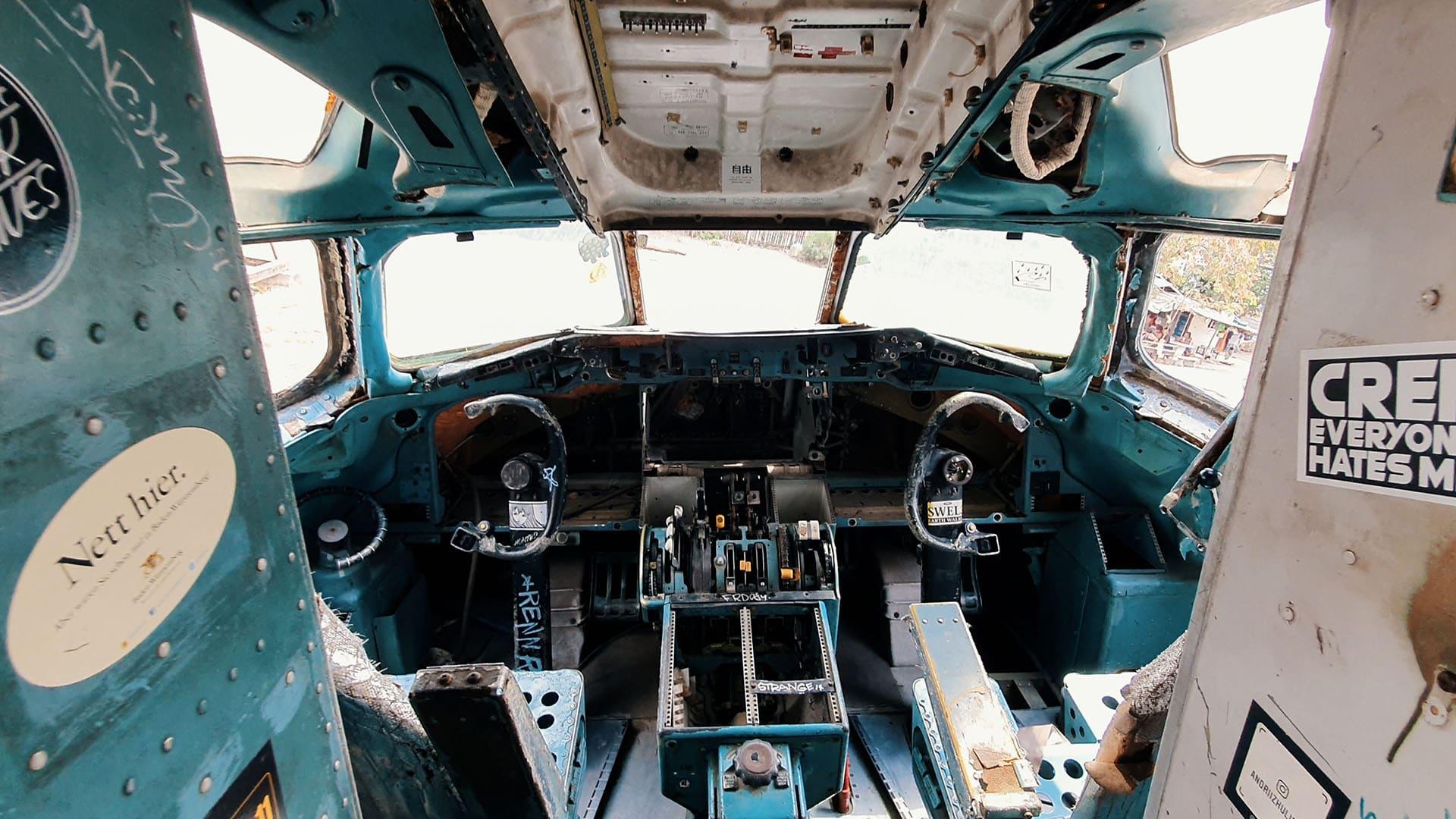 Douglas MD 82 Cockpit