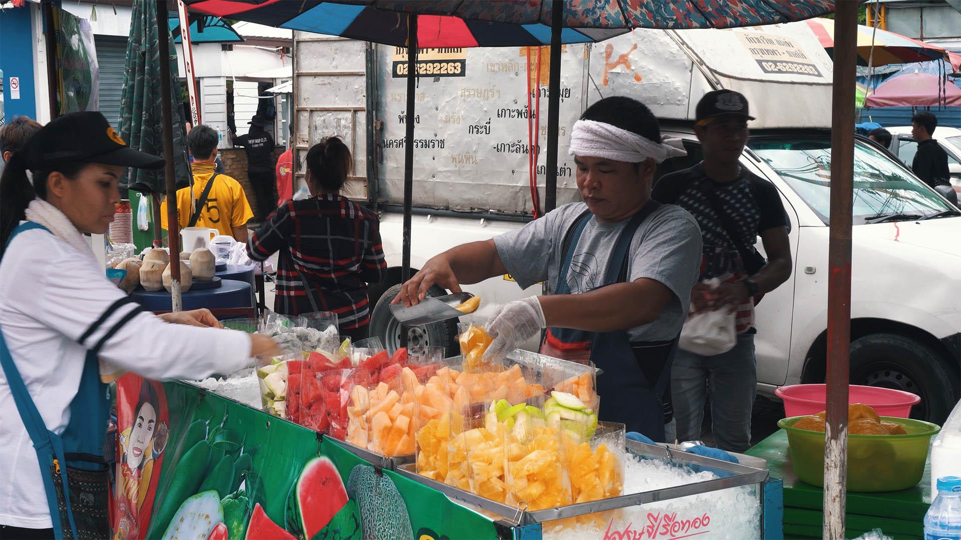 Essen am Chatuchak Weekend Market