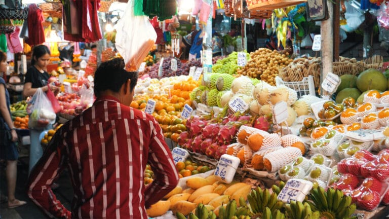 Früchte in Thailand