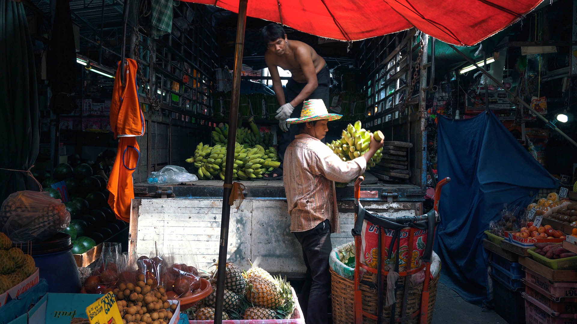 Früchte am Khlong Toei Market