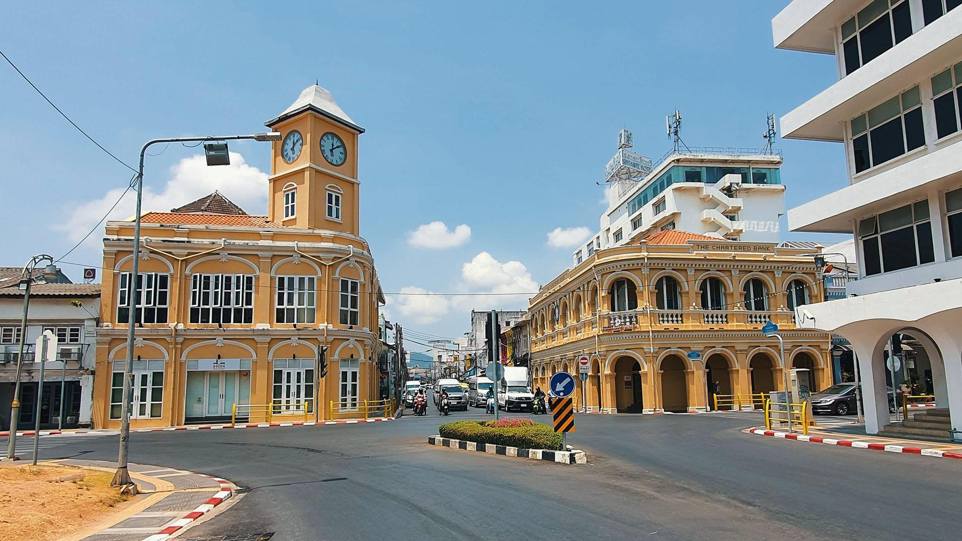Promthep Clock Tower Phuket