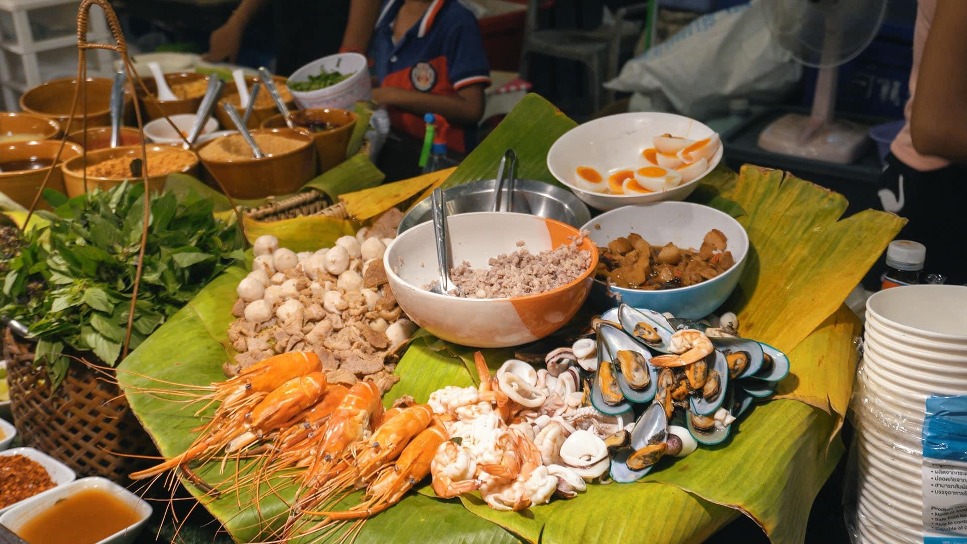 Seafood am Tamarind Market