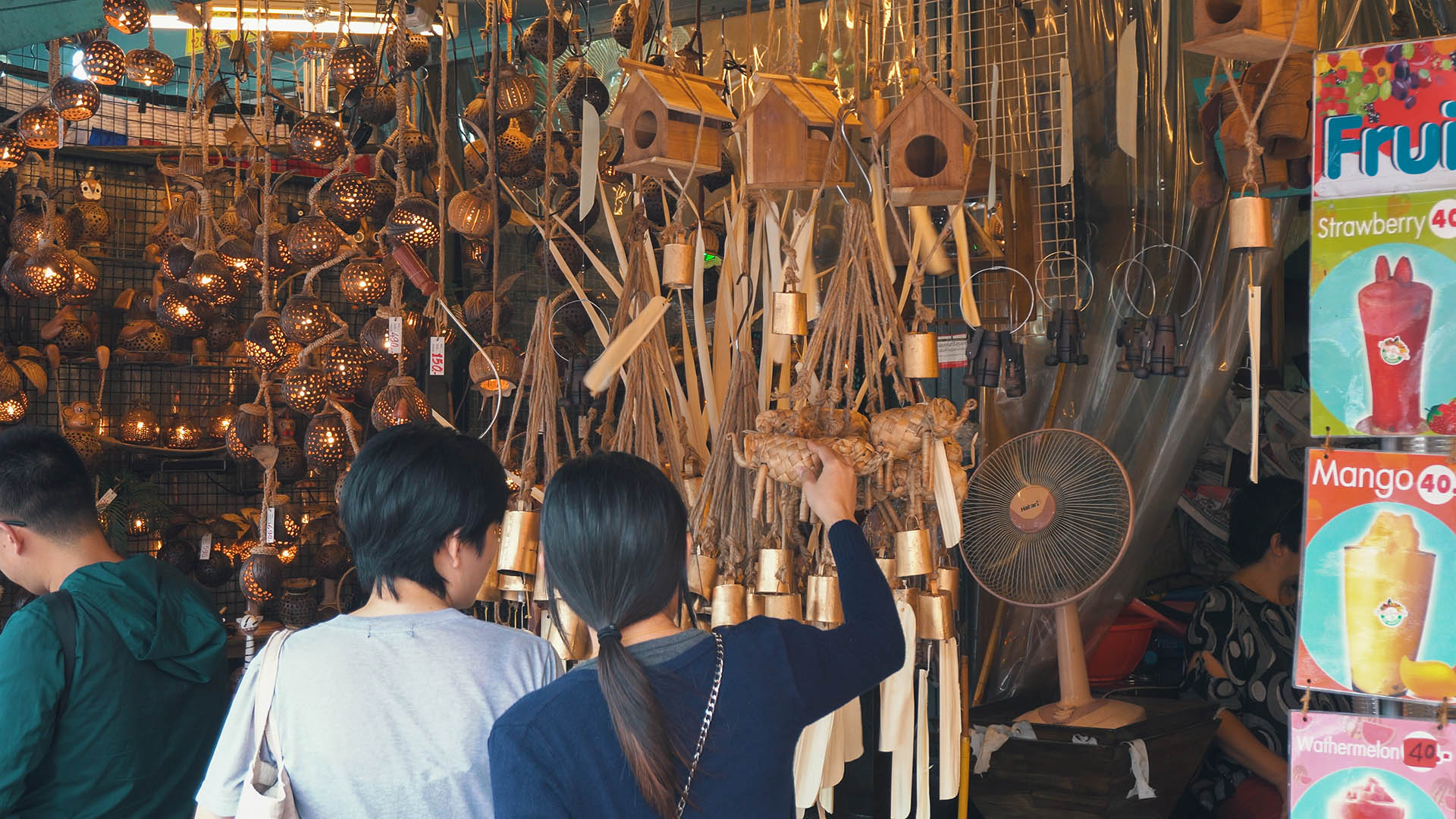 Shopping am Chatuchak Weekend Market