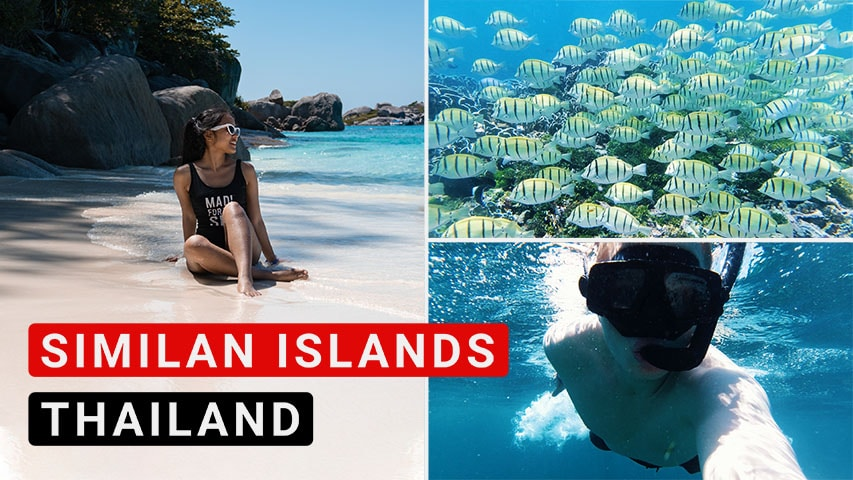 Similan Islands Tagesausflug