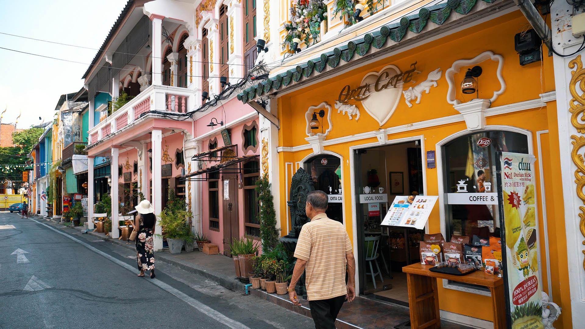 Soi Romanee Phuket Old Town