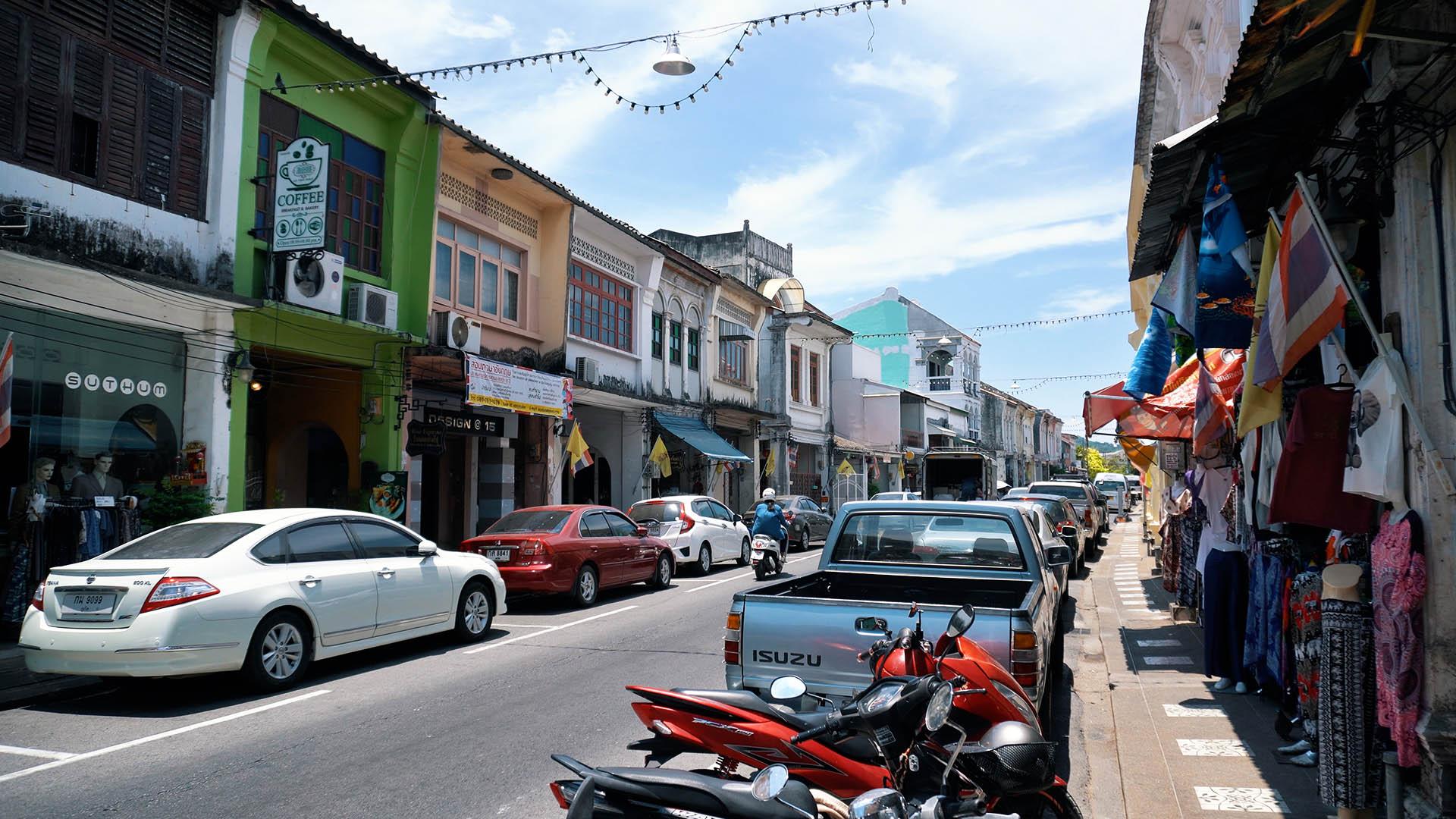 Thalang Road Phuket Old Town